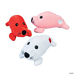 Plush Valentine Seals