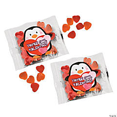 Valentine Penguin Gummy Fun Packs