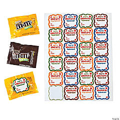 M&M's® Fun Packs with Valentine Stickers