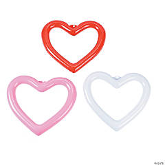Inflatable Hanging Hearts