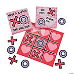 """Hugs & Kisses"" Tic-Tac-Toe Games"