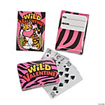 Wild About You Valentine Playing Cards