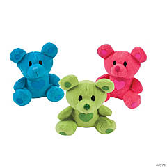 Plush Bright Valentine Bears