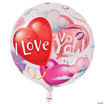"""I Love You"" Latex Balloon"