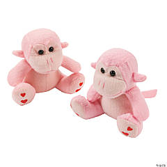 Valentine's Day Stuffed Monkeys