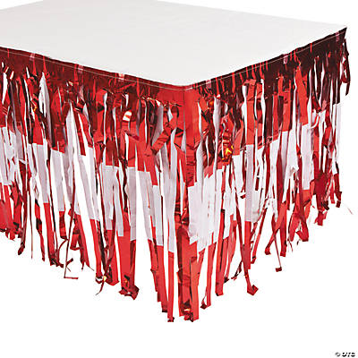 Valentine Fringe Table Skirt