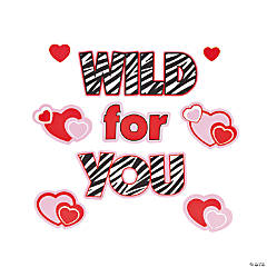 """Wild For You"" Window Clings"