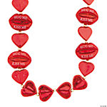 Hearts & Lips Valentine Beads