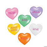 Conversation Heart Faith Stones