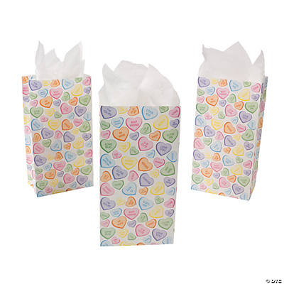 Conversation Hearts Treat Bags