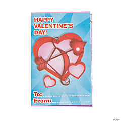 Valentine Fold-Up Activity Books