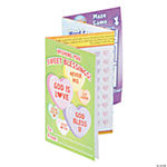 """Sweet Blessings"" Fold-Up Activity Sheets"