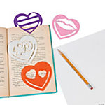 Heart Tracing Bookmarks
