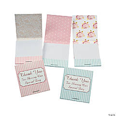 Vintage Collection Wedding Matchbook Notepads