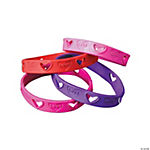 "Die Cut ""Love"" Bracelets"