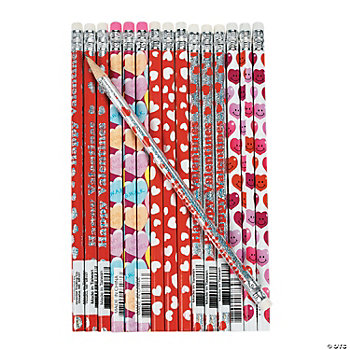 Valentine Pencil Assortment
