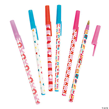 Valentine Stick Pen Assortment