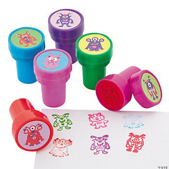 Valentine Monster Stampers
