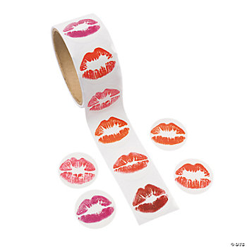 Lips Roll Stickers