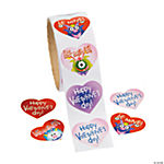 """Be Mine!"" Roll Stickers"