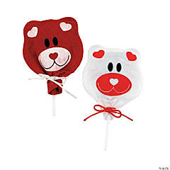 Valentine Bear Sucker Covers