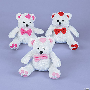 Plush Heart Bears