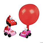 Smile Face Heart Balloon Racers