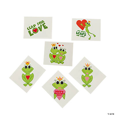 Hoppy Valentine's Day! Frog Tattoos