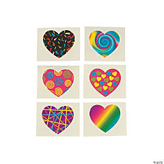 Funky Heart Tattoos