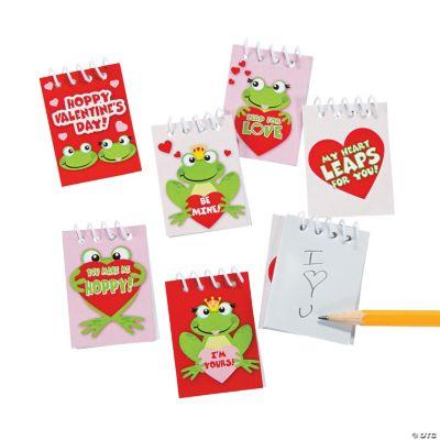 Hoppy Valentine's Day! Spiral Notepads