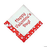 """Happy Valentine's Day!"" Napkins"