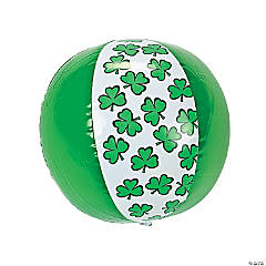 Inflatable St. Patrick's Day Beach Balls