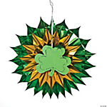 Shamrock Foil Burst Decoration