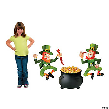 St. Patrick's Day Jointed Cutout Set