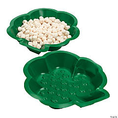 St. Pat's Shamrock-Shaped Dishes