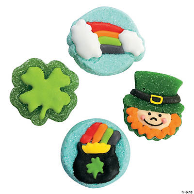 St. Patrick's Day Candy Gels
