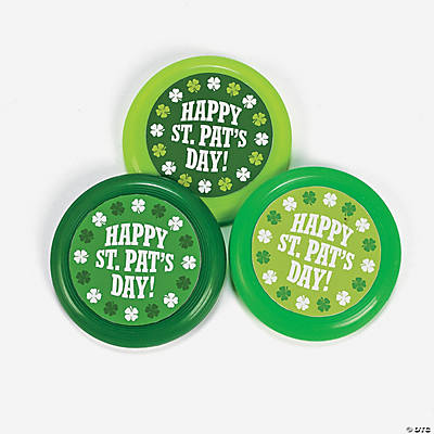 St. Patrick's Flying Disks