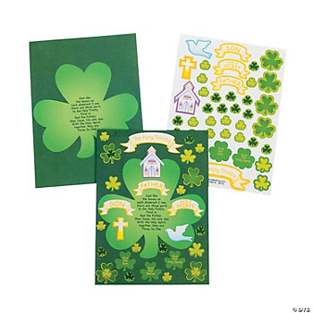 St. Pat's Trinity Make-A-Sticker Scenes