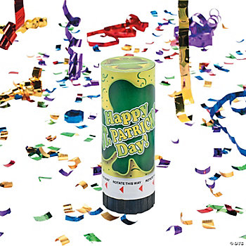 St. Patrick's Party Poppers