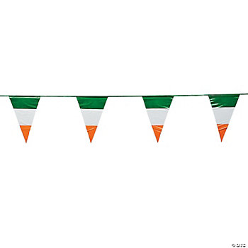 Irish Flag Pennant Banner
