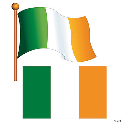 Irish Flag Cutouts