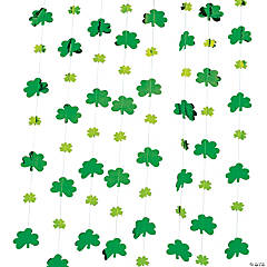 St. Patrick's Day Shamrock String Decorations