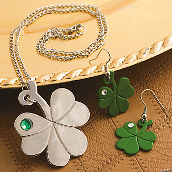 St. Patrick's Day Jewelry Set