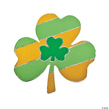 Shamrock Sticker Foil Activity