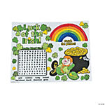 St. Patrick's Day Activity Place Mats