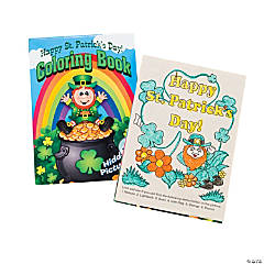 24 St. Patrick's Day Picture Find Activity Books