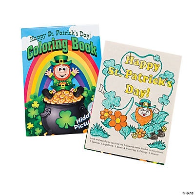 St. Patrick's Day Picture Find Activity Books