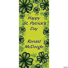 Personalized St. Patrick's Day Door Cover