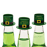 Plastic Happy St. Patrick's Day Hat Bottle Toppers