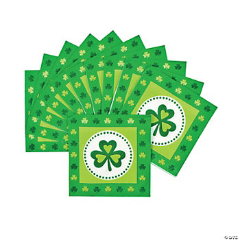 Pot Of Gold Beverage Napkins